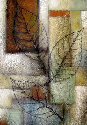 Leaf Whisper 2 Art Print by Leon Zernitsky