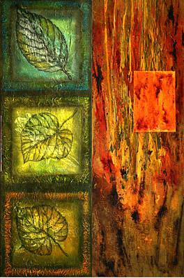 Leaf Whisper 3 Original by Leon Zernitsky