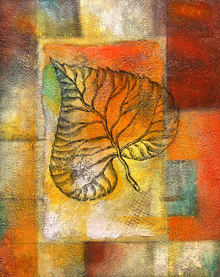 Leaf Whisper 4 Original by Leon Zernitsky