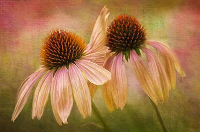 Lean On Me Print by Donna Eaton