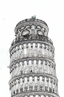 Photograph - Leaning Tower Of Pisa II by Allan Rothman