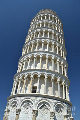 Art Print featuring the photograph Leaning Tower Of Pisa by Kathleen Pio