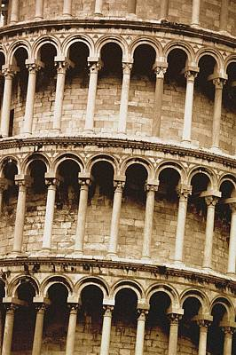 Leaning Tower Of Pisa Tuscany Italy Art Print