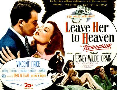 Leave Her To Heaven, Cornel Wilde, Gene Art Print