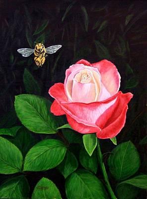 Leave My Rose Alone Art Print by Jim Ziemer