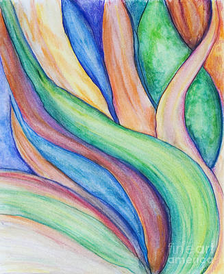 Painting - Leaves by Danielle Scott