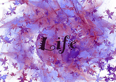 Royalty-Free and Rights-Managed Images - Leaves of Life by Betsy Knapp
