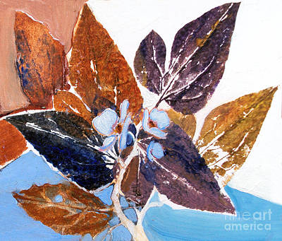 Painting - Leaves Series2 by Diane Ursin
