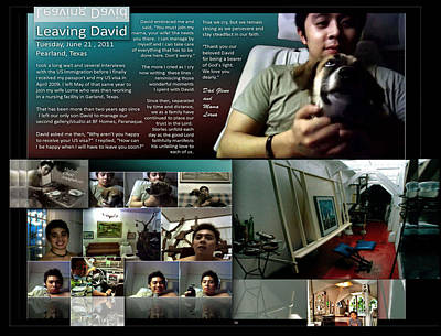 Digital Art - Leaving David P58 by Glenn Bautista
