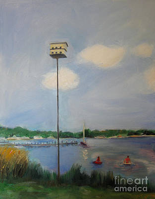 Artpro.com Painting - Leaving The Nest by Karen Francis