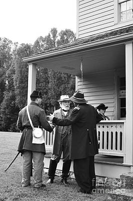 Civil War Site Photograph - Lee And Grant by Thomas R Fletcher
