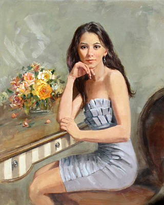 Painting - Lee by Chris  Saper
