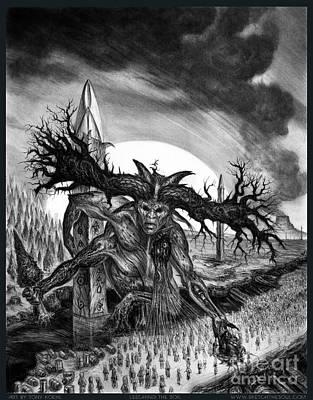 Mixed Media - Leeching The Soil by Tony Koehl
