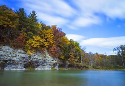 Fall Foliage Photograph - Lees Landing by Rick Berk