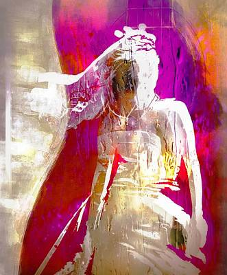 Digital Art - Left At The Alter by Carrie OBrien Sibley