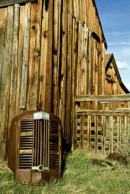 Bodie Photograph - Leftovers by Aron Kearney