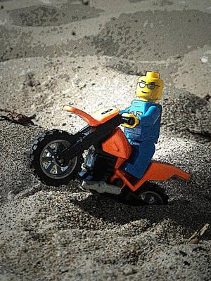Photograph - Lego Ryder 3 by Cyryn Fyrcyd