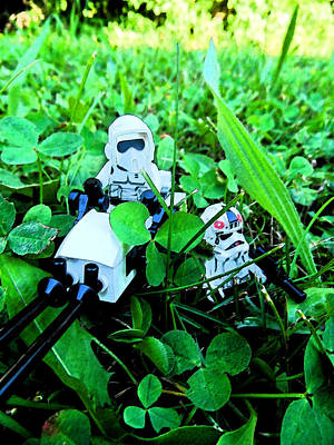 Photograph - Lego Star Wars 2 by Cyryn Fyrcyd