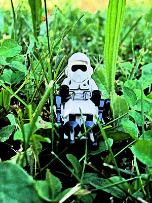 Photograph - Lego Star Wars 5 by Cyryn Fyrcyd