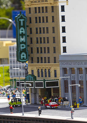 Photograph - Lego Tampa by Nicholas Evans
