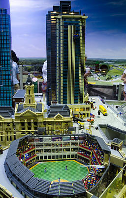Photograph - Legoland Dallas I by Ricky Barnard
