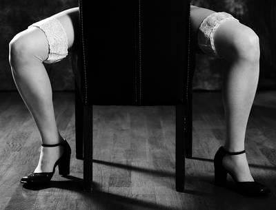 Garter Belts Photograph - Legs by Joana Kruse