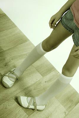 Legs Of A Girl Art Print by Joana Kruse