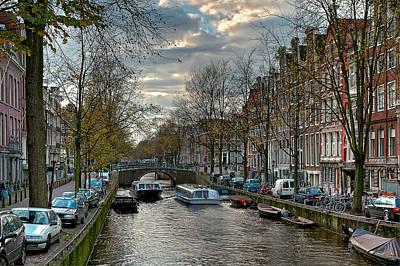 Photograph - Leidsegracht. Amsterdam by Juan Carlos Ferro Duque