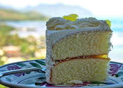 Photograph - Lemon Cake by Dan McManus