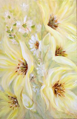 Lemon Chiffon Art Print by Joanne Smoley