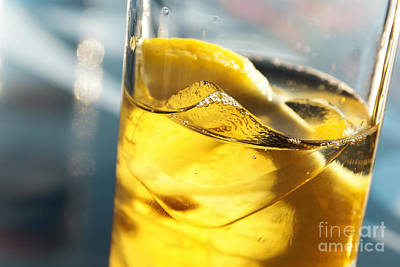 Lemon Drink Art Print by Carlos Caetano