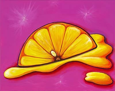 Painting - Lemon Fresh by David Junod