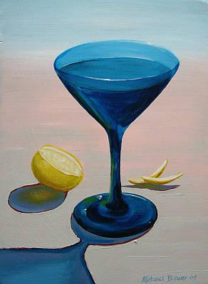 Lemon Twist Art Print by Michael Baum