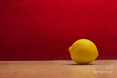 Photograph - Lemon Yellow And Tomatoe Red by Catherine MacBride