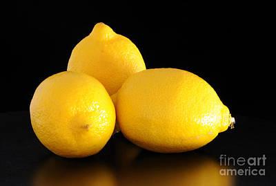 Photograph - Lemons by Nancy Greenland