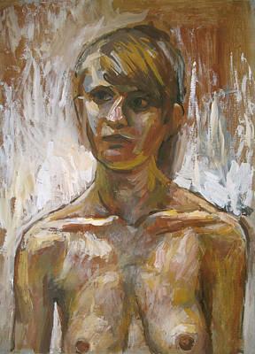 Racei Painting - Lena. 2008 by Yuri Yudaev