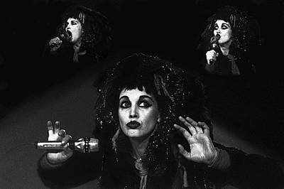 Photograph - Lene Lovich  by Dragan Kudjerski