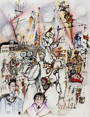 Communism Mixed Media - Leni Riefenstahl by Daniel Culver