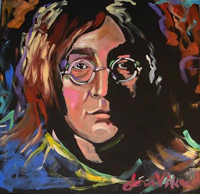 Lennon Art Print by Jean Alexander