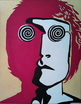 Mccartney Drawing - Lennon by Kenny Cannon