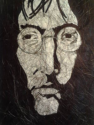 John Lennon Images Drawing - Lennon by Nzephany Madrigal Uzoka