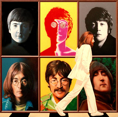 Lennon To The 7th Power Art Print by Ross Edwards