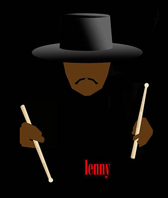 Jazz Digital Art - Lenny White by Victor Bailey