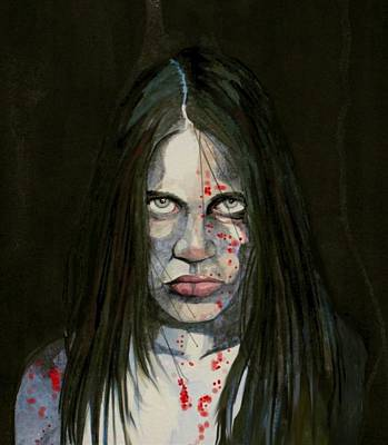 Novel Painting - Lenore Recreated by Ray Agius