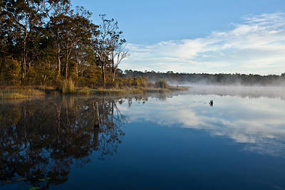 Photograph - Lenthalls Dam 03 by David Barringhaus