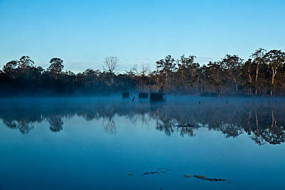 Photograph - Lenthalls Dam 11 by David Barringhaus
