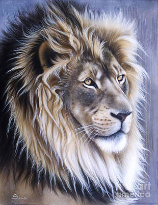 Leo Painting - Leo by Sandi Baker
