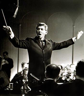 Leonard Bernstein, C. 1961 Art Print