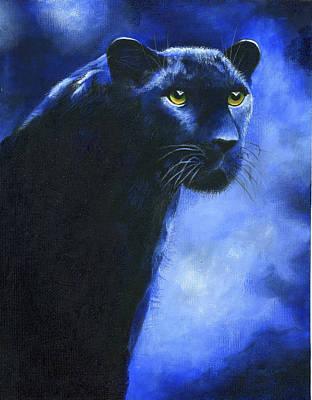 Leopard Art Print by Diana Lehr