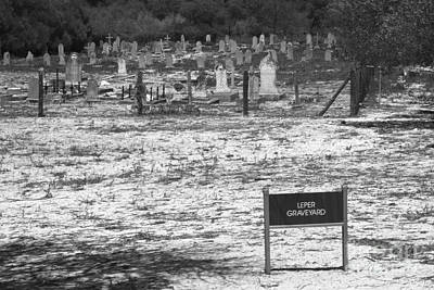 Photograph - Leper Graveyard On Robben Island by Aidan Moran